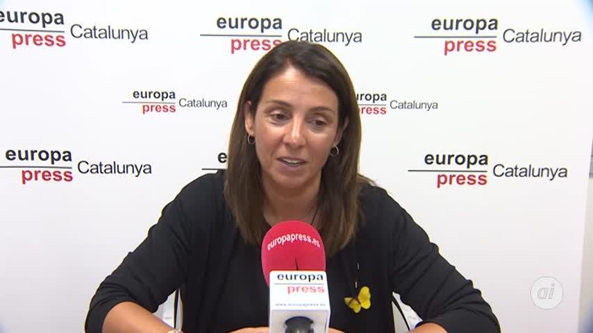 Consejera catalana de Presidencia pide ir masivamente a la Diada