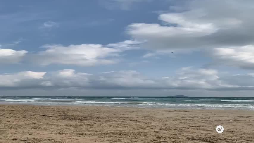 Se estrella un avión del Ejército del Aire en la costa de Murcia