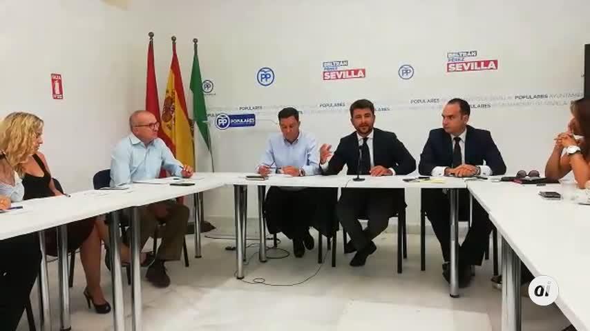 """Beltrán Pérez (PP): """"Espero que no haya más Magrudis"""""""