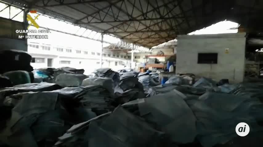 Un camión con 127 kilos de cocaína en pieles de animales en Lorca