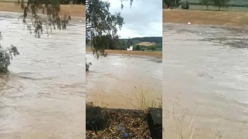 Carreteras cortadas, crecida de un río... la odisea del San Fernando