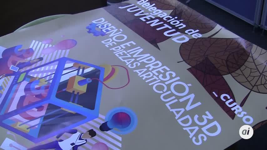 Curso de diseño e impresión 3D de piezas articuladas en el centro Box