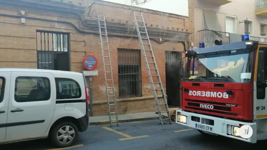 Muere una mujer en el incendio de una vivienda en Huelva