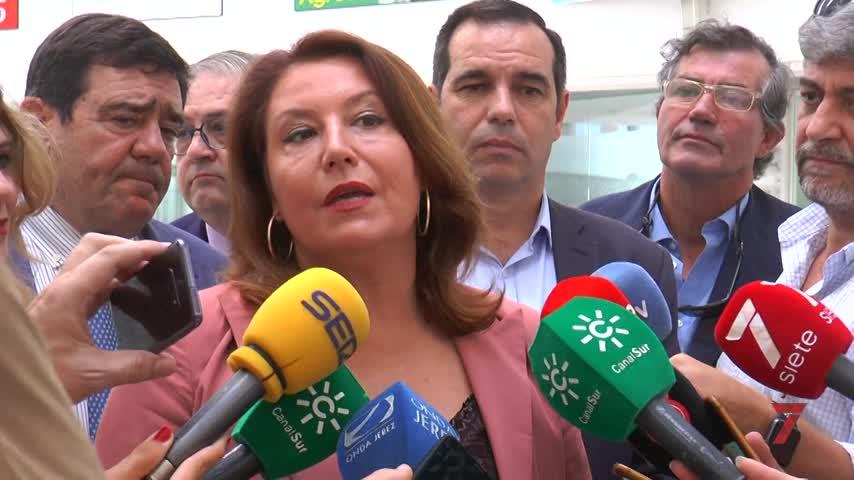 Crespo destaca en Jerez el desbloqueo de ayudas a los agricultores