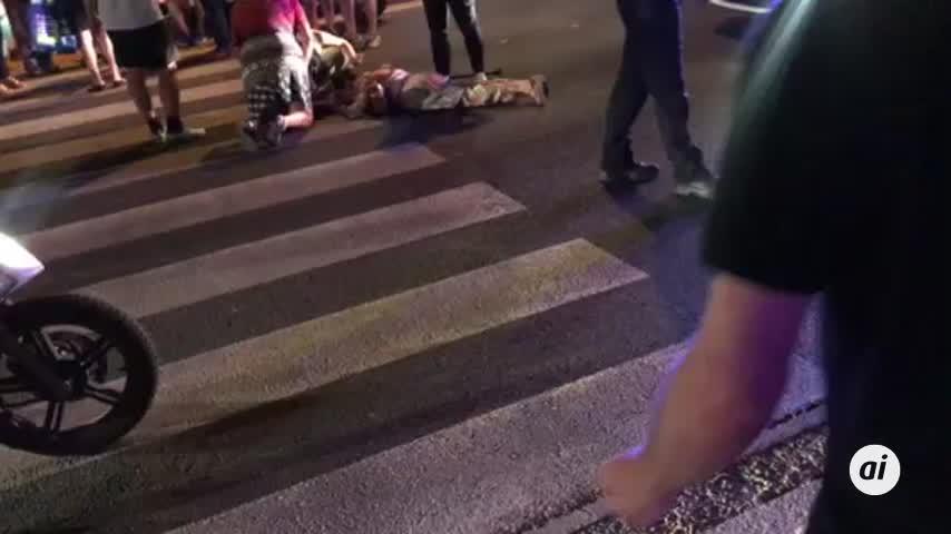 Un motorista atropella a una mujer en el centro de Almería