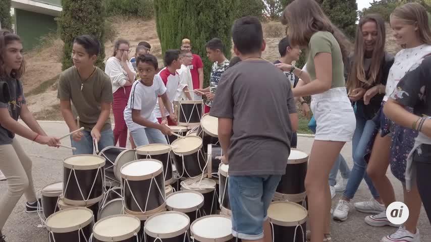 La tamborada del 24 de Septiembre en el Parque del Barrero en video