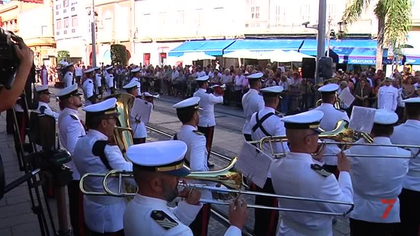 La Infantería de Marina se mantiene fiel a su cita con el 24-S