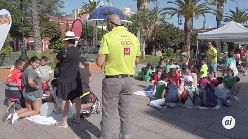 Día Mundial del Corazón con prácticas para los menores en la Alameda