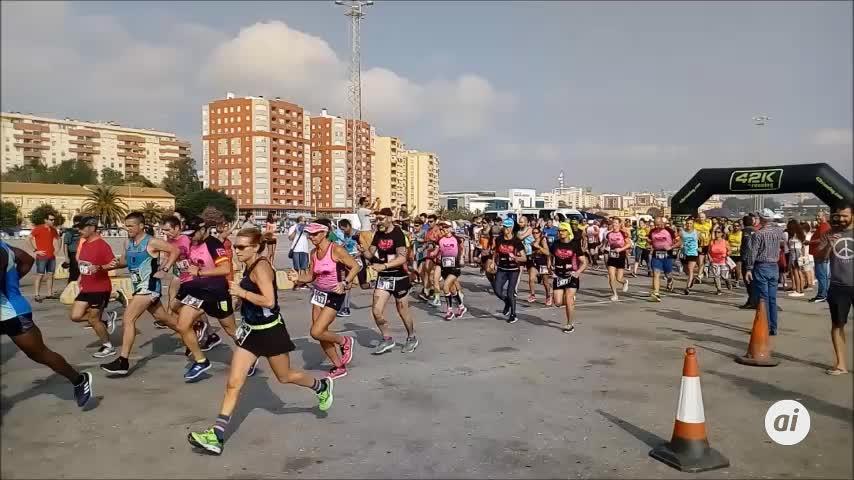 Morales y Porras ganan la carrera de la Guardia Civil en Algeciras