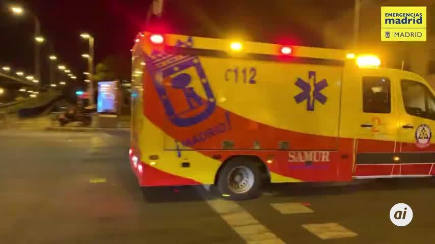 Herido grave por arma de fuego y 3 apuñalados en trifulca en Madrid