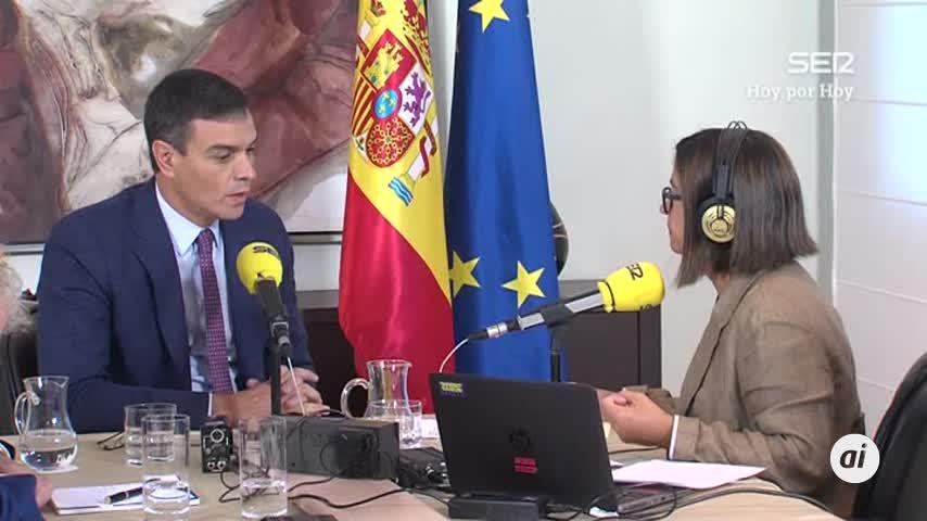 """Pedro Sánchez avisa: un Gobierno en funciones """"puede aplicar el 155"""""""
