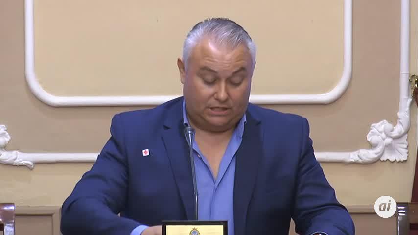 Domingo Villero abandona el grupo municipal de Cs en Cádiz