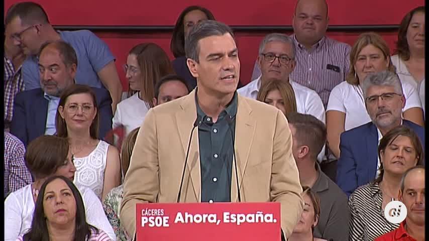 Sánchez a PP y Cs: La memoria no debilita la democracia, la engrandece
