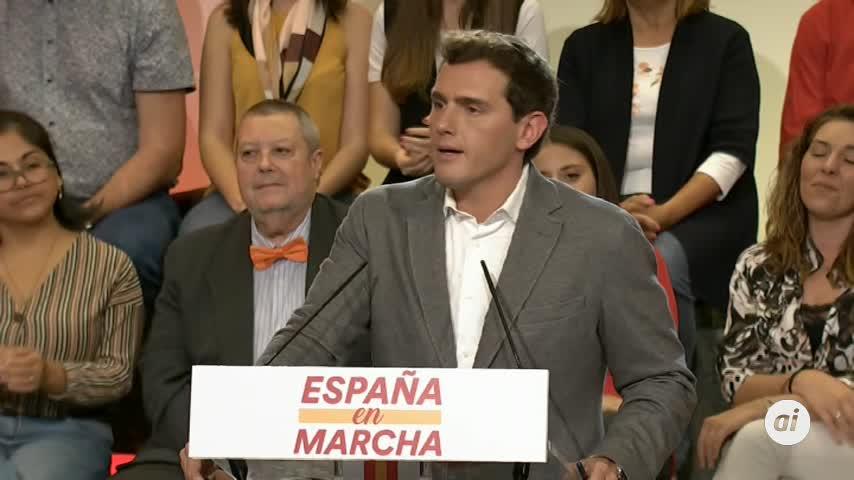 Albert Rivera se abre ahora a pactar con el PSOE tras el 10N