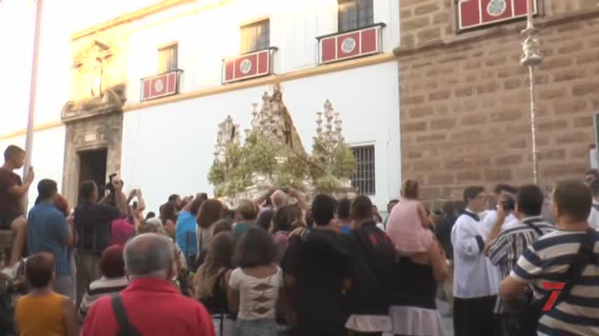 La Virgen del Rosario inundó las calles en el día de su fiesta