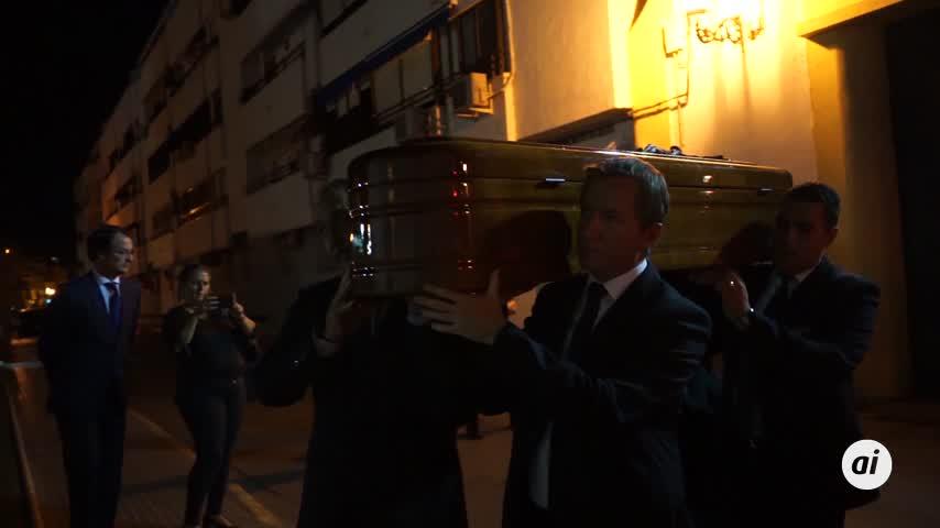 Los restos mortales de Pepe Oneto llegan al Castillo San Romualdo