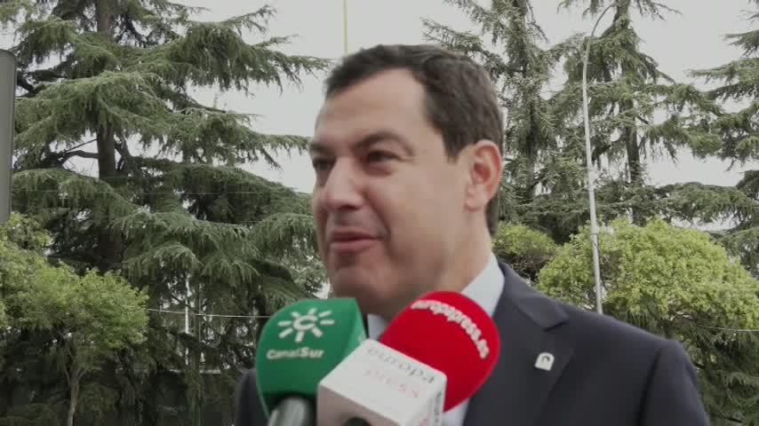 """Moreno reivindica el """"orgullo de ser español y andaluz"""""""