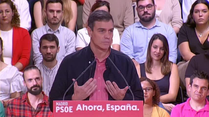 Sánchez hará una propuesta a todos los partidos en 48 horas si gana