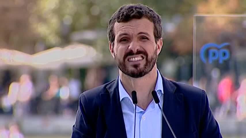 """Casado dice que es """"inaceptable"""" la agenda de desbloqueo de Sánchez"""