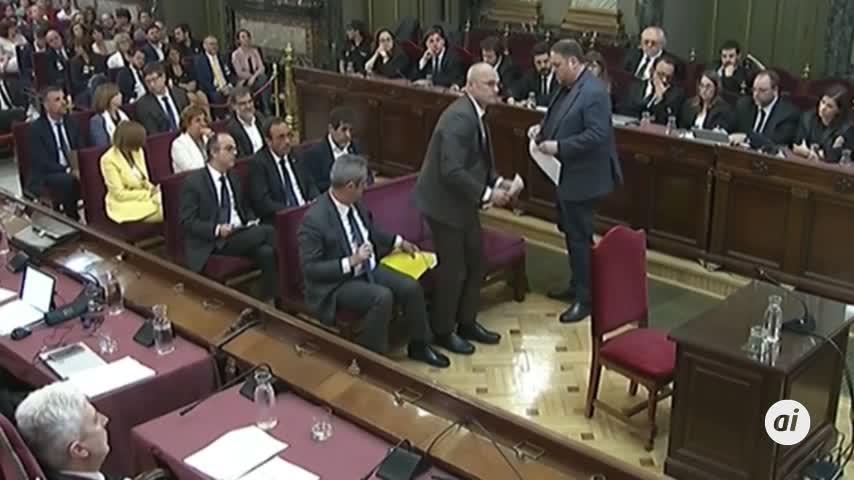 13 años de cárcel a Junqueras y 12 años a Turull, Romeva y Bassa