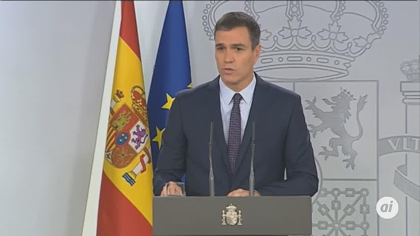 """Sánchez pide el """"íntegro cumplimiento"""" de la sentencia del procés"""