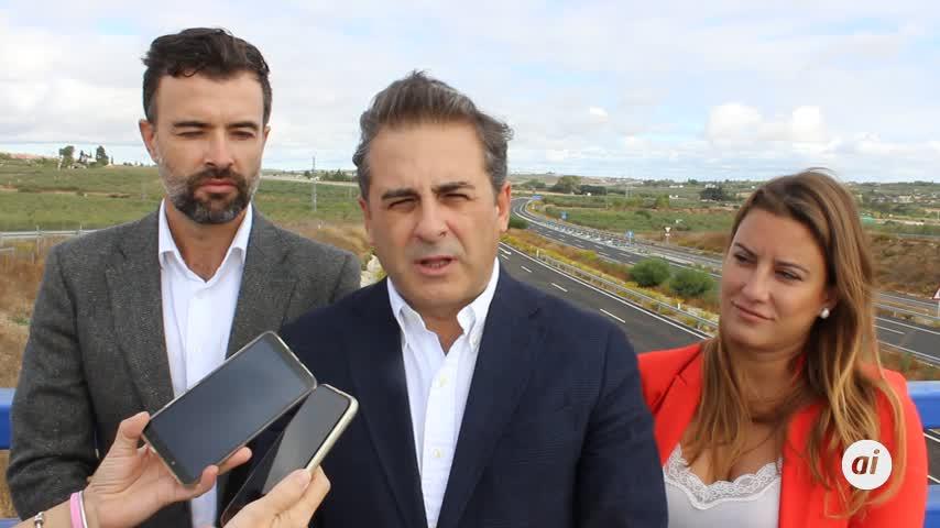 """Cs tacha de """"electoralista"""" la actualización de los tramos de la SE-40"""