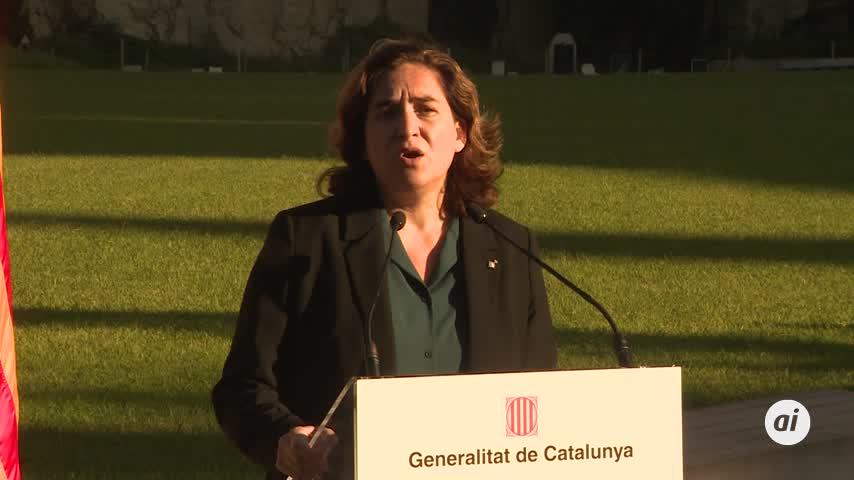 """Colau pide a Sánchez """"humanidad y empatía"""" con Cataluña tras sentencia"""