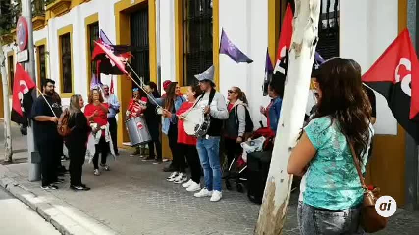 Las protestas de Dulcinea se trasladan a Sevilla