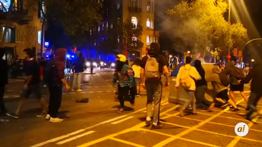 El Gobierno asegura que los incidentes en Cataluña están coordinados