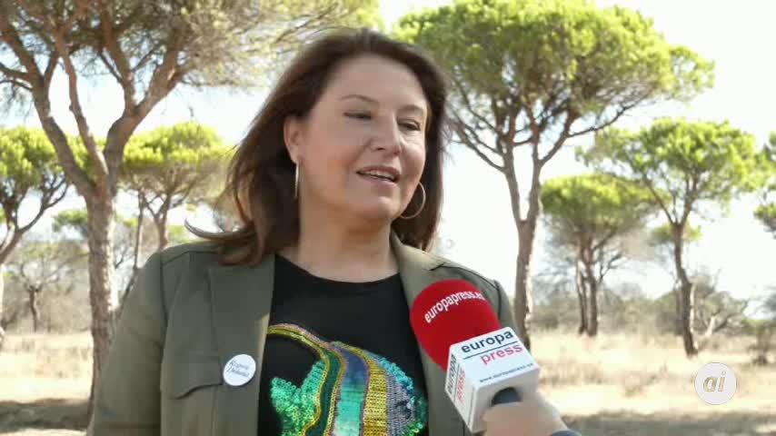Crespo apuesta por seguir el legado recibido para preservar Doñana