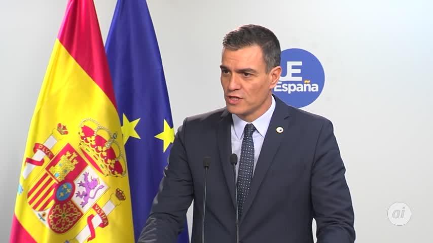 """Pedro Sánchez carga contra Torra por """"banalizar"""" la violencia"""