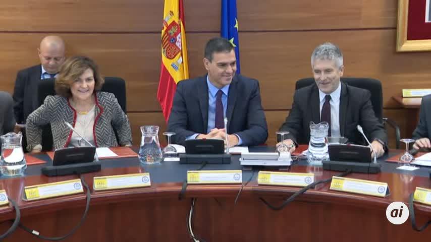 Sánchez preside la reunión del comité de seguimiento sobre Cataluña