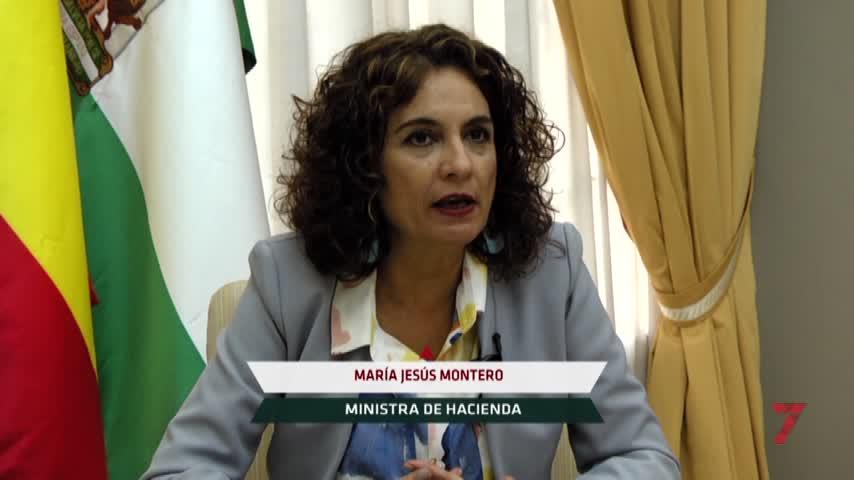 """Montero: """"Aspiro a que el futuro de Andalucía sea mejor"""""""
