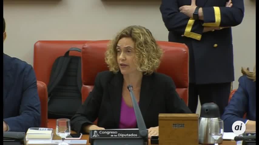 Batet echa de la Diputación del Congreso a una diputada de Vox