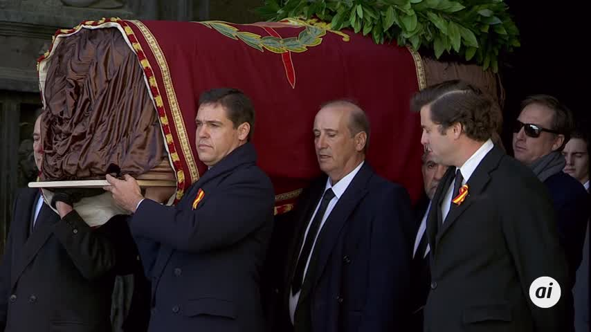 Día histórico: Franco sale del Valle de los Caídos