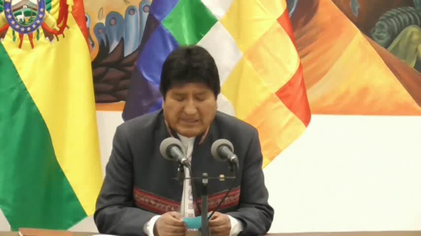 Evo Morales, virtual vencedor por cuarta vez ante protestas por fraude