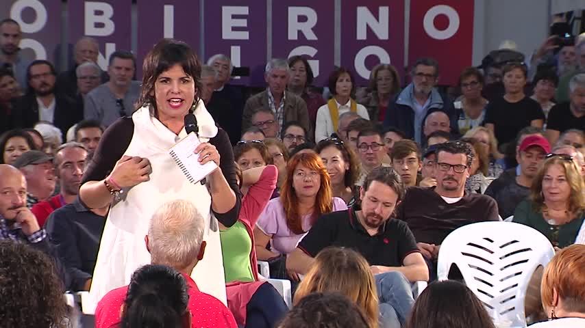 """Teresa Rodríguez: Los presupuestos de la Junta """"huelen a franquismo"""""""