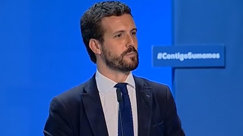 """Casado critica el manifiesto de los """"socios"""" de Sánchez"""