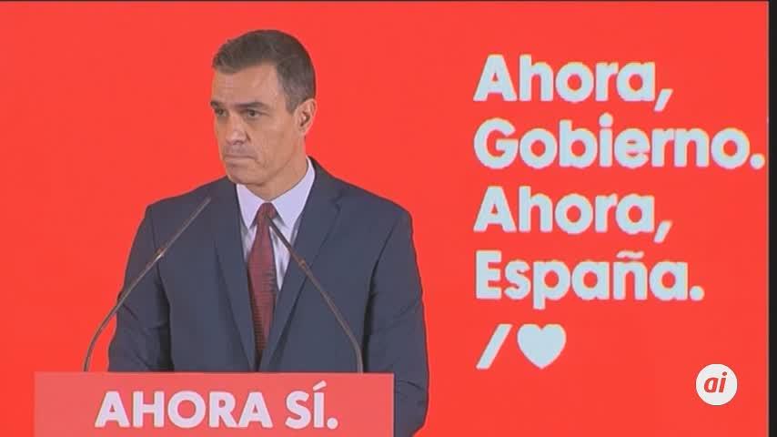 Pedro Sánchez ofrece un proyecto electoral para una década