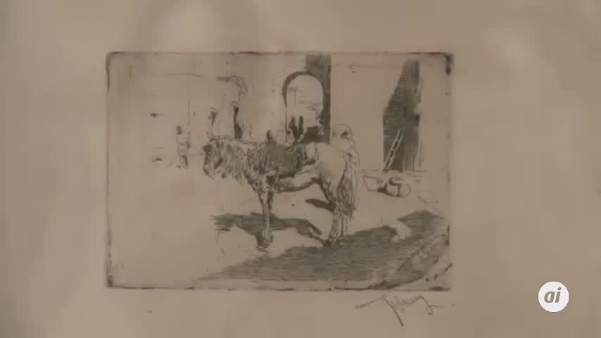 Los grabados de Fortuny se pueden ver en el Museo Carmen Thyssen