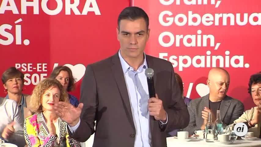 Pedro Sánchez promete no pactar un Gobierno con el PP