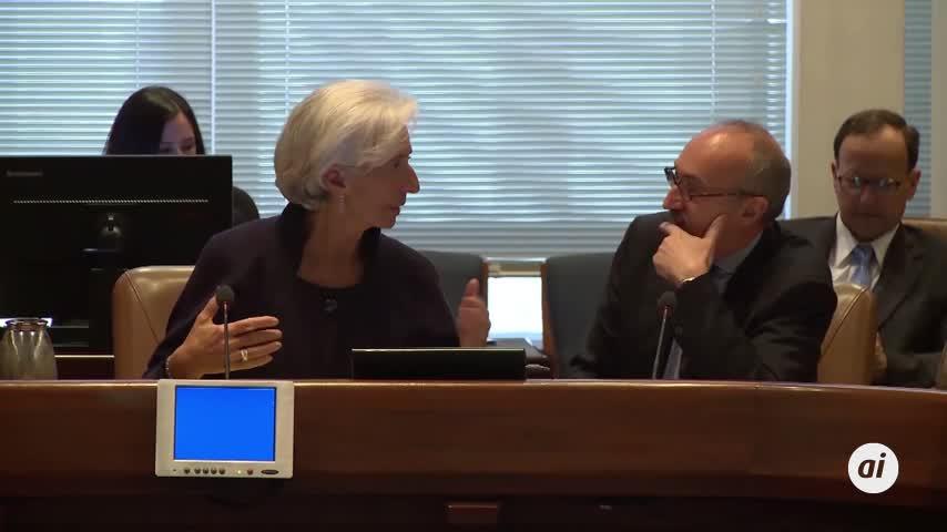 Lagarde ya ha pedido a Alemania y Holanda que inviertan más