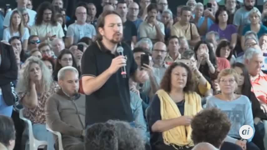 Iglesias no se fía de la promesa de Sánchez de no pactar con PP