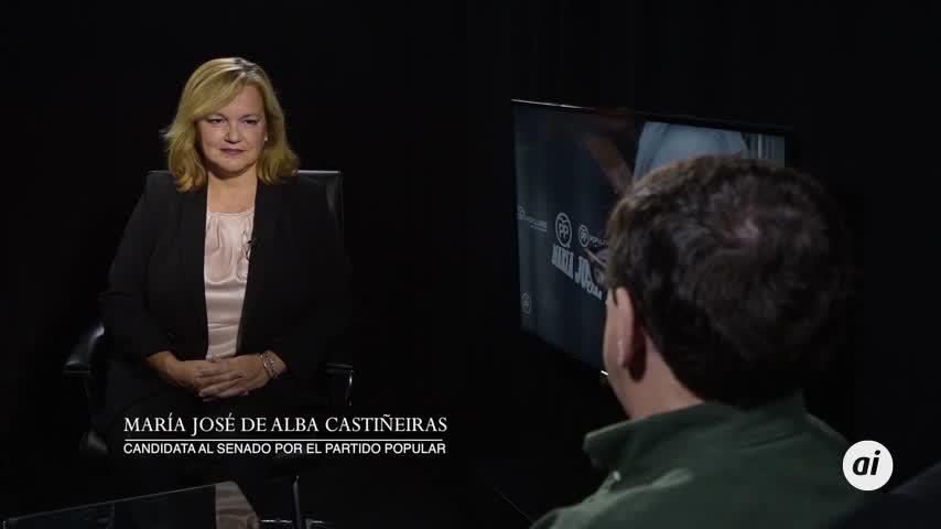 De Alba pide el voto para que el PP pueda formar un Gobierno estable