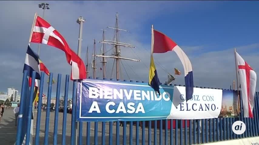 El buque Juan Sebastián de Elcano inicia su 92 Crucero de Instrucción