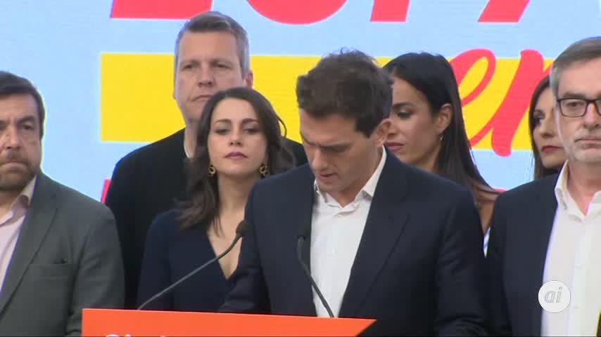"""Rivera asume el """"mal resultado sin paliativos"""" y anuncia un congreso"""