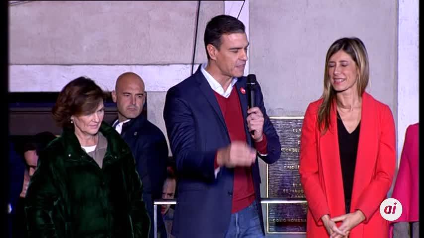 """Sánchez: """"Esta vez sí o sí vamos a conseguir un gobierno progresista"""""""