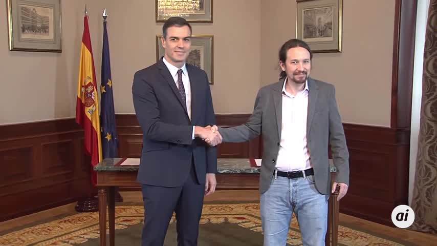 Sánchez cede y acepta un Gobierno con Iglesias como vicepresidente