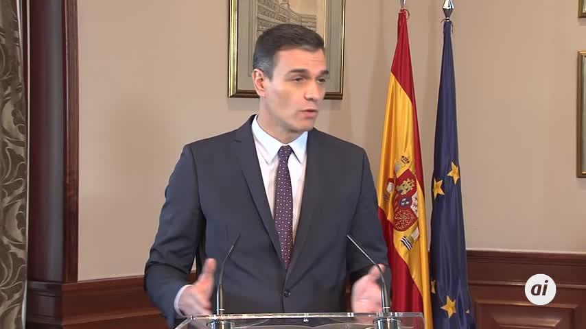 """Pedro Sánchez: """"El acuerdo es para cuatro años"""""""