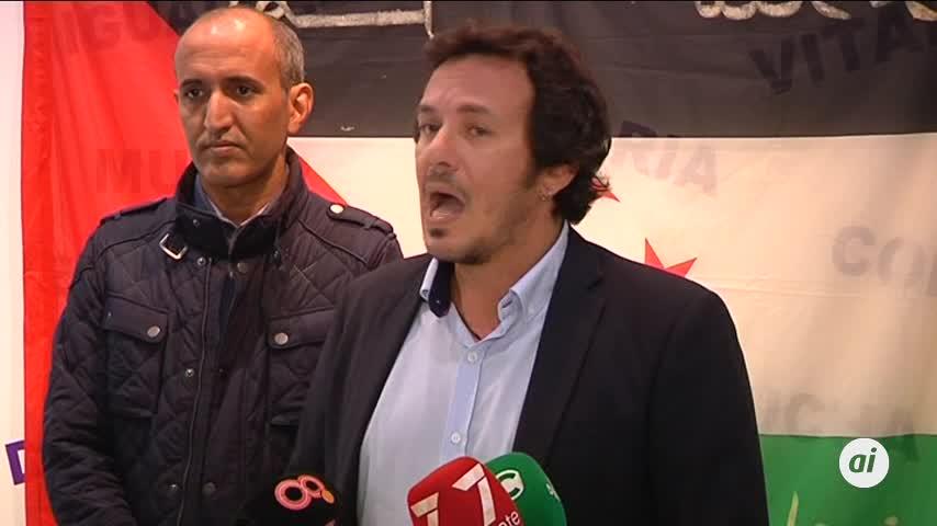 """""""Respaldar y combatir la descolonización del pueblo saharaui"""""""